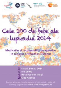 A doua Conferinta Nationala Cele 100 de fete ale lupusului - Medicatie si recomandari terapeutice